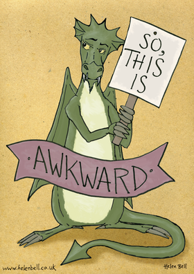 The Awkwardness Dragon