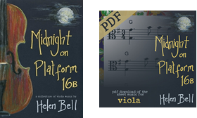 Midnight on Platform 16B Folk Viola Sheet Music
